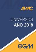 Universo referencial año 2018